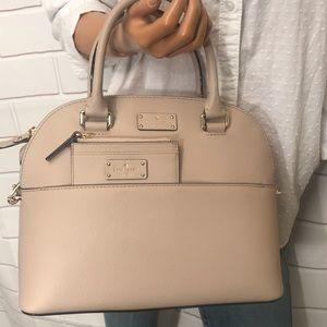 Kate Spade Domed Handbag + coin Purse